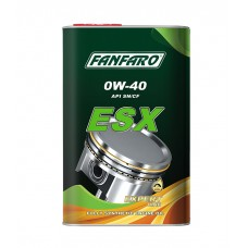 FANFARO ESX SAE 0W-40  Full Synthetic (синтетика), (1л) metal