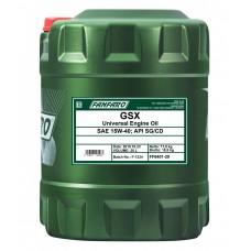 FANFARO GSX  SAE 15W-40, (20л)