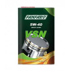 FANFARO VSN SAE 5W-40  Full Synthetic (синтетика), (1л) metal